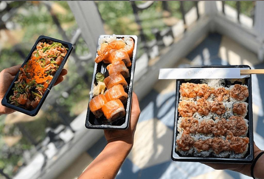 sushi a domicilio madrid
